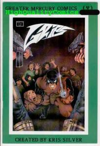 GRIPS #1, Vol 2, VF/NM, GMC,1989,Guns, Blood, Gore, Indy, more indies in store