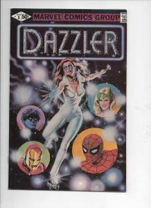 DAZZLER #1, VF+, Spider-man, Iron Man, 1981, more Marvel in store