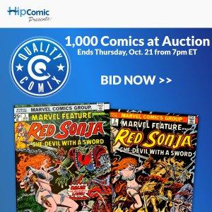 Quality Comix Auction Event #70
