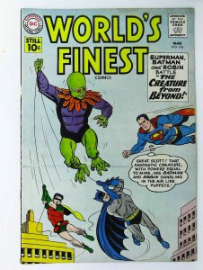 World's Finest Comics #116, Fine- (Actual scan)
