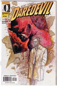 Daredevil (vol. 2, 1998) # 16 VF/NM (Wake Up 1) Bendis/Mack