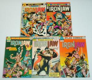 Ironjaw #1-4 VG/FN complete series + barbarians one-shot - atlas comics bronze 2