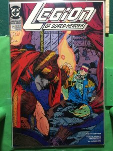 Legion Of Superheroes #14 1989 series