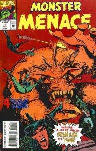 Monster Menace #1, NM- (Stock photo)