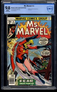 Ms. Marvel #14 CBCS NM/M 9.8 White Pages