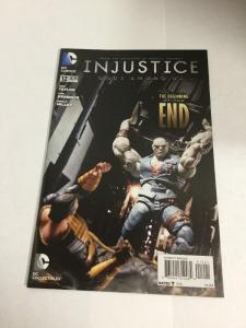 Injustice Gods Among Us 12 Variant Nm Near Mint DC Comics