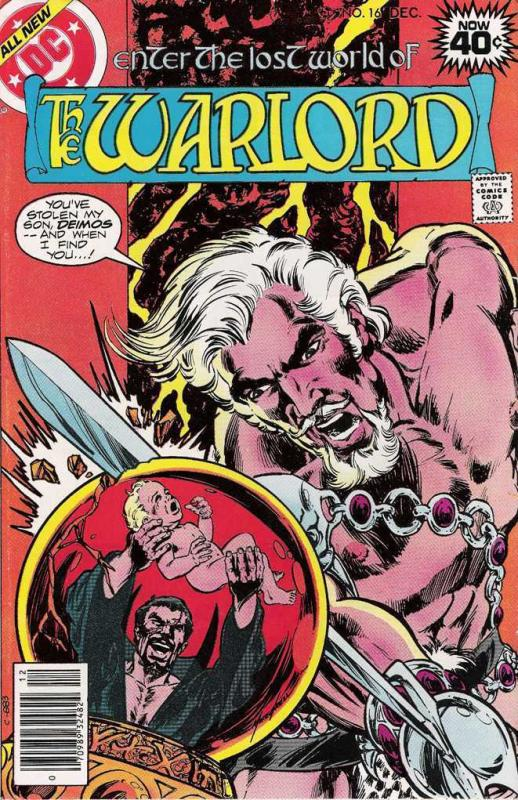 WARLORD 16 VF-NM COMICS BOOK