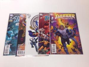 Thunder Agents 1 2 3 4 5 VF/NM 2011 Lot Set