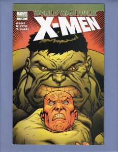 World War Hulk X-Men #1 FN/VF Hulk Wolverine Marvel 2007
