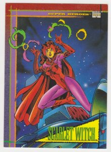 1993 Marvel Universe #64 Scarlet Witch