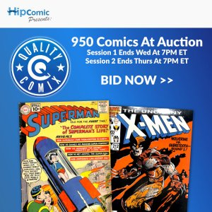 Quality Comix Auction Event #48