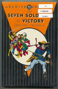 Seven Soldiers of Victory Archive Edition 2 hardcover