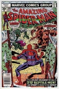 SPIDER-MAN #166, VF/NM, Lizard, Stegron, Amazing, 1963, more ASM in store