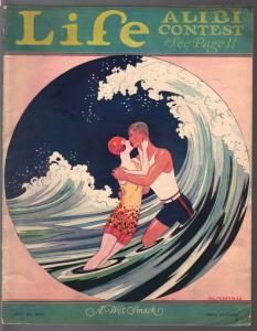 Life 7/28/1927-platinum age cartoonists-Baskerville-Anderson-Denison-VG/FN