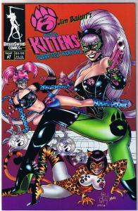 3 LITTLE KITTENS #1, VF/NM, Jim Balent, 2002, Holly Golightly, more in store