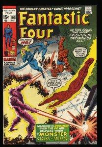 Fantastic Four #105 NM- 9.2 Marvel Comics