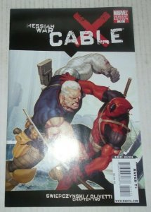 Messiah War Cable # 13 Variant Marvel