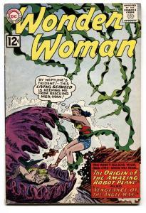 Wonder Woman #128 1962-Origin of ROBOT PLANE-DC SILVER AGE- vg