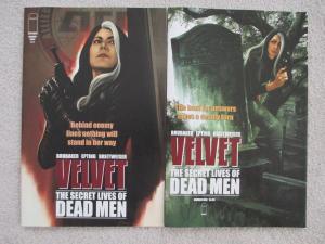 VELVET - 2 Issue Lot- #8 and #9 - By Ed Brubaker From Image Comics