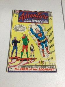 Adventure Comics 355 Vg Very Good 4.0 DC Comics