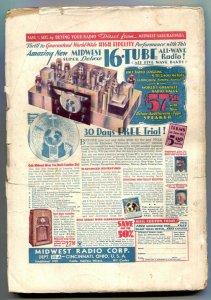 Sky Birds Pulp March 1935- Satan's Courier- Buzz Benson G