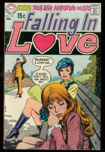 FALLING IN LOVE #113 1970-DC ROMANCE-LOVE HOROSCOPE '70 FN/VF