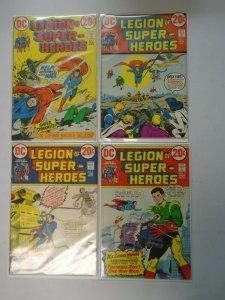 Legion of Super-Heroes set #1-4 4.0 VG (1973 1st Series)