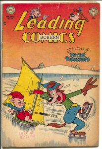 Leading #53 1952-DC-Peter Porkchops-Howie Post-Doodles Duck-Puss 'n Pooch-G/VG