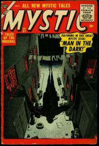 Mystic #51 1956- Atlas Pre Marvel Horror comic- Silver Age G