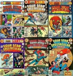 FOUR STAR SPECTACULAR 1-6  fvf  COMPLETE! BRONZE AGE COMICS BOOK