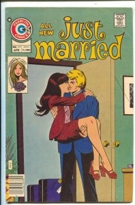 Just Married #110 1976-Charlton-Ice Cold Heart-VG