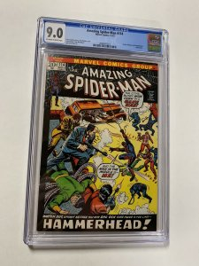 Amazing Spider-man 114 Cgc 9.0 Ow/White Pages Marvel Bronze Age