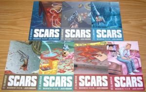 Warren Ellis' Scars #1-6 VF/NM complete series + sampler ALL A VARIANTS 2 3 4 5