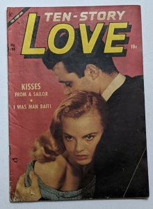 Ten Story Love #195 (May 1954, Ace) Good 2.0 Photo cover