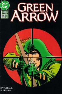Green Arrow (1988 series) #74, VF+ (Stock photo)
