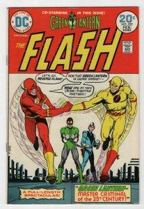 Bronze Age Flash Comics #225 6.0 Fine condition Co-Starring Green Lantern 1973