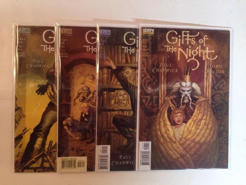Gifts Of The Night 1-4 Complete Near Mint Lot Set Run