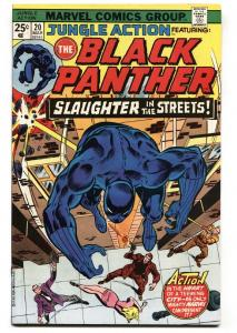 Jungle Action #20 comic book 1976- Black Panther FN+