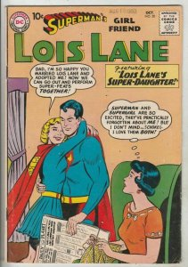 Lois Lane, Superman's Girlfriend # 20 Strict FN/VF Mid-High-Grade 1st Daughter