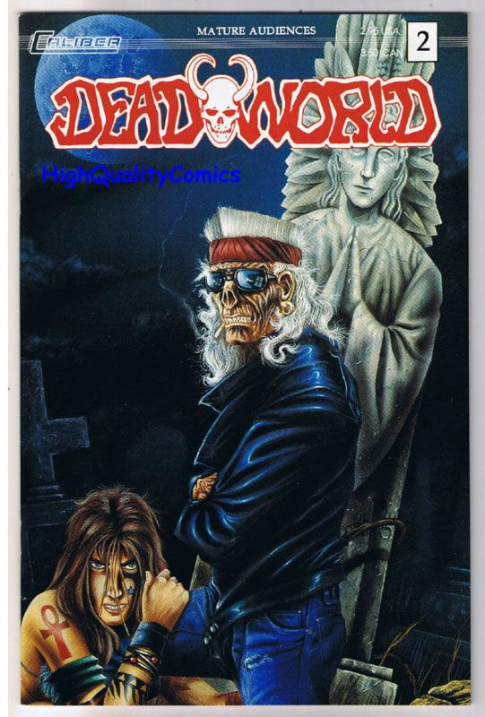 DEADWORLD #2, NM, Walking Dead, Zombies, Undead, 1993, more Horror in store
