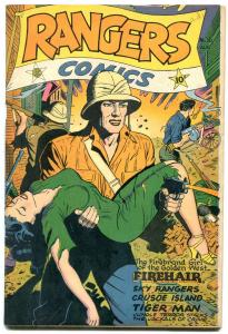 Rangers Comics #30 1946- Headlight cover- Fiction House VF-
