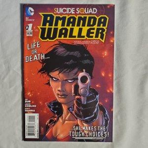 Suicide Squad Amanda Waller 1 Fine Cover by Giuseppe Camuncoli