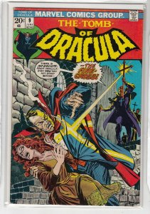 TOMB OF DRACULA (1972 MARVEL) #9 VG- A01320