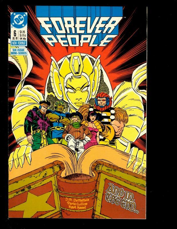 12 Comics Final Night # 3 4 Forever # 3 4 5 6 Firestorm # 41 42 55 56 67 68 JF26