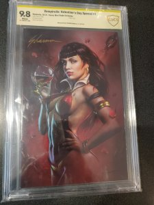 Vampirella: Valentine's Day Special (2019), No. 1 CBCS 9.8 SIGNATURE SERIES SIGN