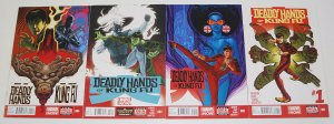 Deadly Hands of Kung Fu vol. 2 #1-4 VF/NM complete series - shang-chi 2 3 set
