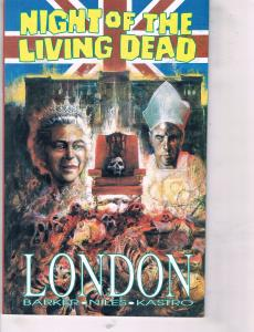 2 Comics Night Of The Living Dead Graphic Novel Fantaco & Dark Shadows # 3 TW28