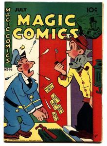 Magic Comics #96 comic book 1947- Lone Ranger- Mandrake- Popeye Golden Age