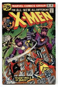X-MEN #98 1976-MARVEL COMICS-SENTINELS-KEY MARVEL ISSUE FN+