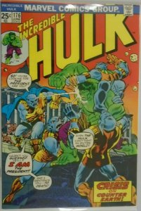 The Incredible Hulk #176 - 4.0 VG- 1974